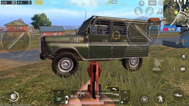 防弾UAZ